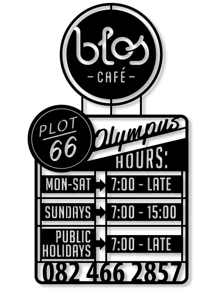 Blos Café - Opening Hours