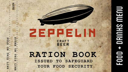 Zeppelin Menu